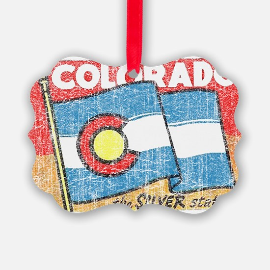The Silver State Ornament