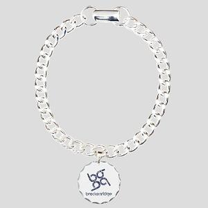 Vintage Breckenridge Charm Bracelet, One Charm