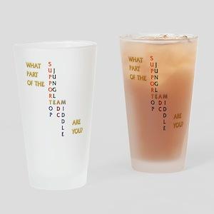 teamfinal 1000 Drinking Glass