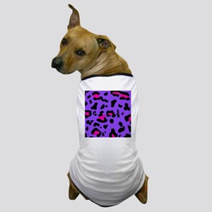 shower leo purple Dog T-Shirt