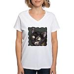 Dark Tort Women's V-Neck T-Shirt