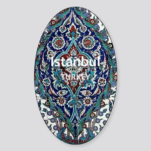 Istanbul_3.0475x5.6556_GalaxyNote2C Sticker (Oval)
