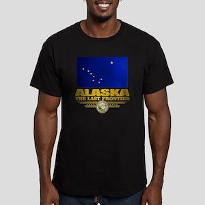 Alaska Pride Men's Fitted T-Shirt (dark)