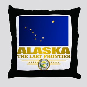 Alaska Pride Throw Pillow