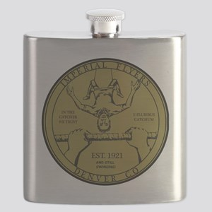 Imperial Flyers Gold Coin Flask