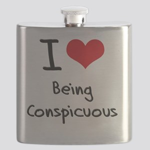 I love Being Conspicuous Flask