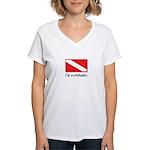 I'm certifiable Women's V-Neck T-Shirt