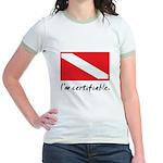 I'm certifiable Jr. Ringer T-Shirt