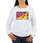 Fruit Watercolor Women's Long Sleeve T-Shirt