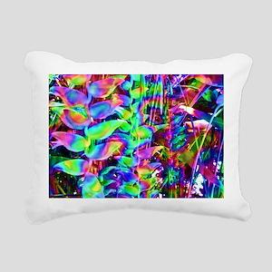hippie Rectangular Canvas Pillow