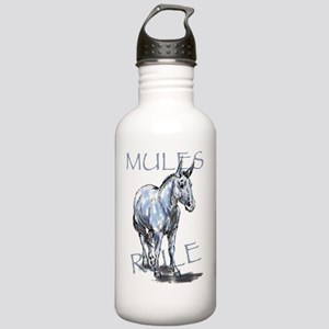 Mules Rule Stainless Water Bottle 1.0L