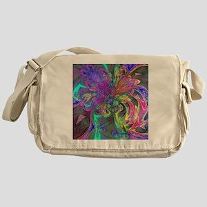 Glowing Burst of Color Deva Messenger Bag