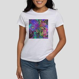 Glowing Burst of Color Deva Women's T-Shirt
