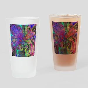 Glowing Burst of Color Deva Drinking Glass