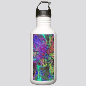 Glowing Burst of Color Stainless Water Bottle 1.0L