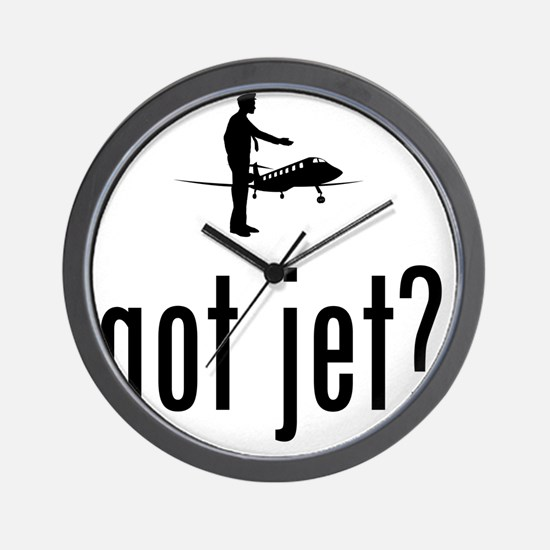 Business-Jet-Pilot-02-A Wall Clock