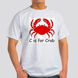 C is for Crab Light T-Shirt