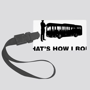 Bus-Driver-12-A Large Luggage Tag