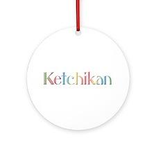 Ketchikan Ornament (Round)