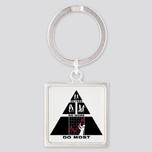 Forex-Stock-Trader-11-A Square Keychain
