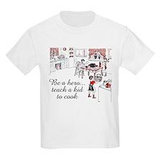 Teach A Kid To Cook Kids Light T-Shirt