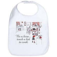 Teach A Kid To Cook Bib