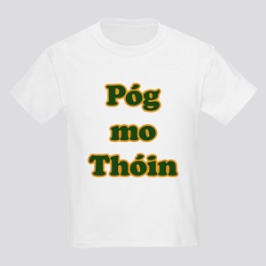 Póg mo Thóin Kids Light T-Shirt