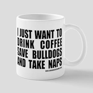 CoffeeBulldogsNaps Mugs