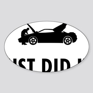 Car-Mechanic-04-A Sticker (Oval)