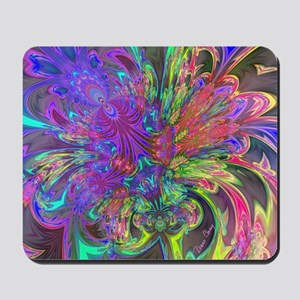 Glowing Burst of Color Deva Mousepad