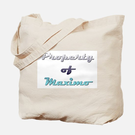 Property Of Maximo Male Tote Bag