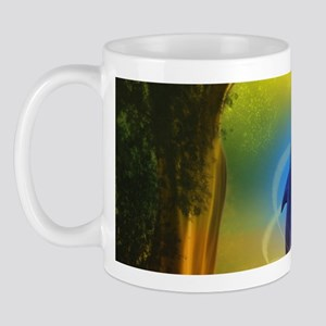 Colorful Dolphin Mug