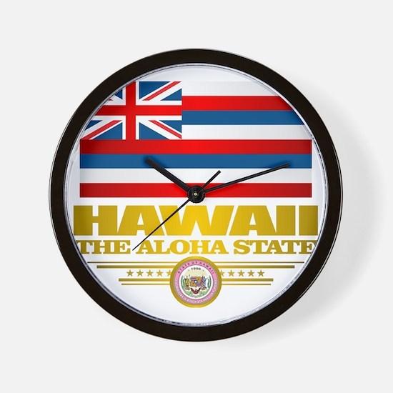 Hawaii Pride Wall Clock