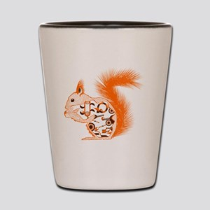 Nuts about Squirrels Shot Glass