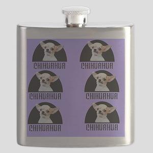 chihuahua Dog Flask