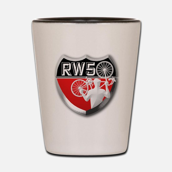 Road Warrior 50 (sized for apparel item Shot Glass