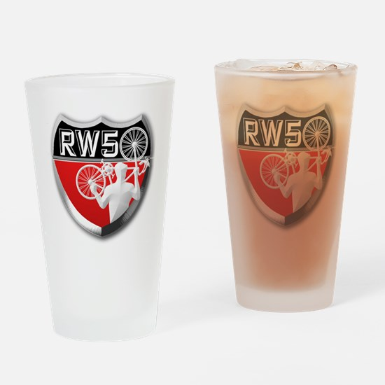 Road Warrior 50 (sized for apparel  Drinking Glass