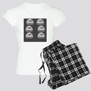 Chihuahua Dog Gray Women's Light Pajamas