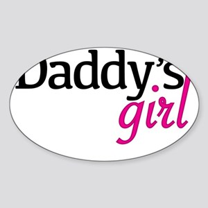 Daddy's Girl Sticker (Oval)