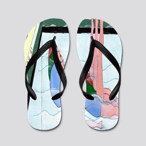Synchronized Swimming Flip Flops