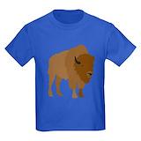Buffalo Kids T-shirts (Dark)