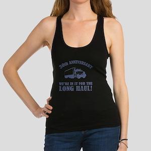 30th Anniversary Humor (Long Ha Racerback Tank Top