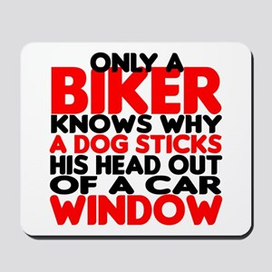 Only a Biker Mousepad