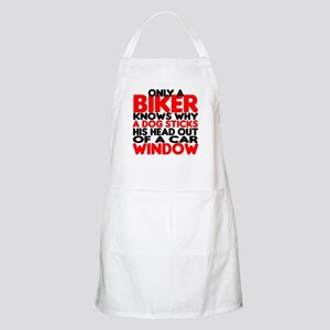 Only a Biker BBQ Apron