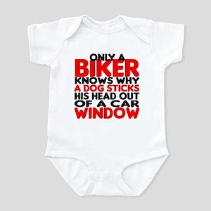Only a Biker Infant Bodysuit