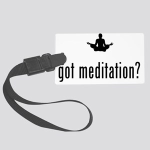 Meditation-02-A Large Luggage Tag