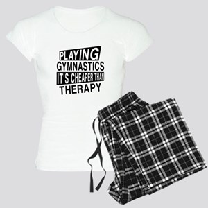 Awesome Gymnastics Player D Women's Light Pajamas