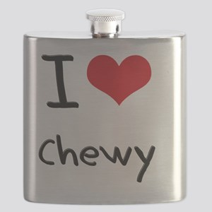 I love Chewy Flask
