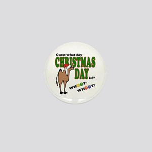 Hump Day Christmas Mini Button