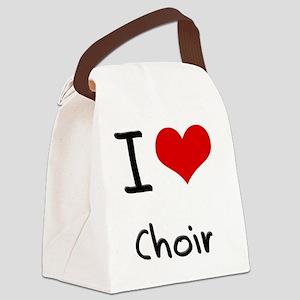 I love Choir Canvas Lunch Bag